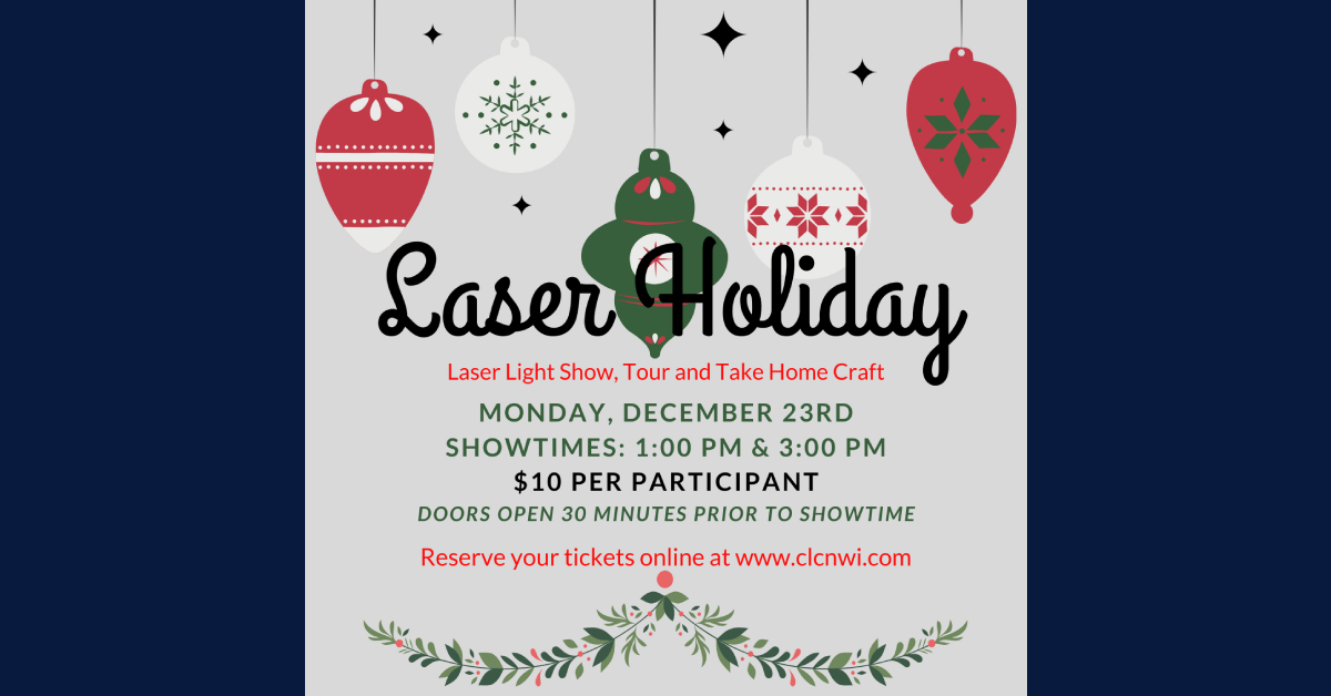 Laser Holiday Pop Up Show