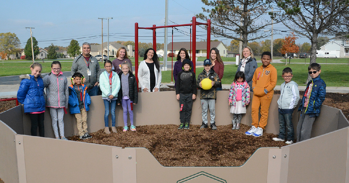 Liberty Elementary to receive new playground equipment