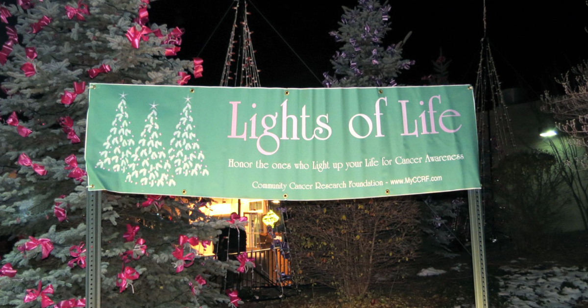 Holiday lights program raises funding for cancer research
