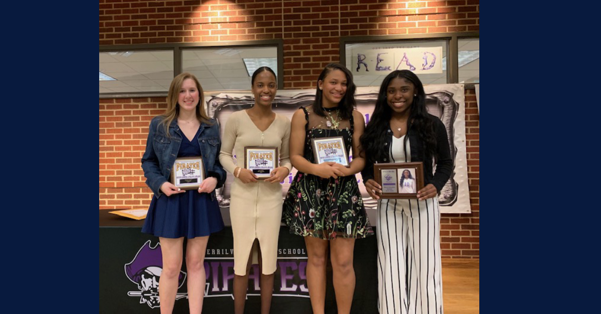 Fall athletes honored at Merrillville High School banquet