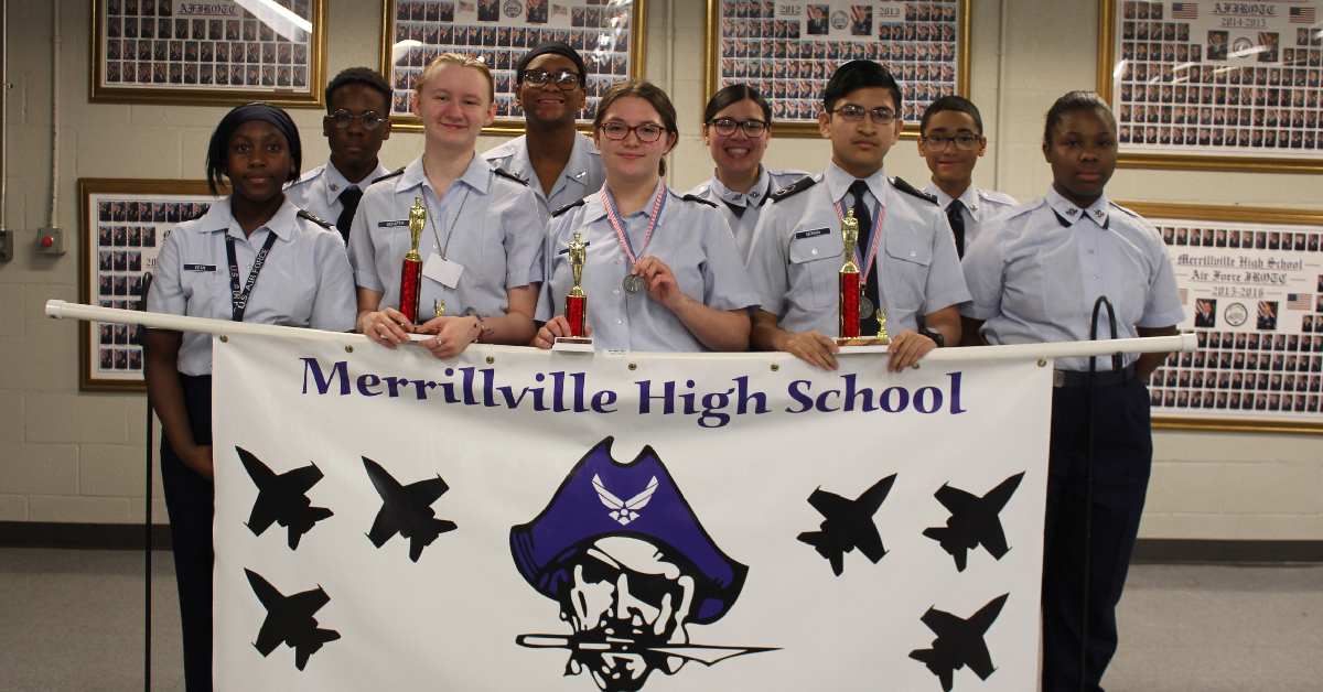 MHS JROTC places first in drill meet