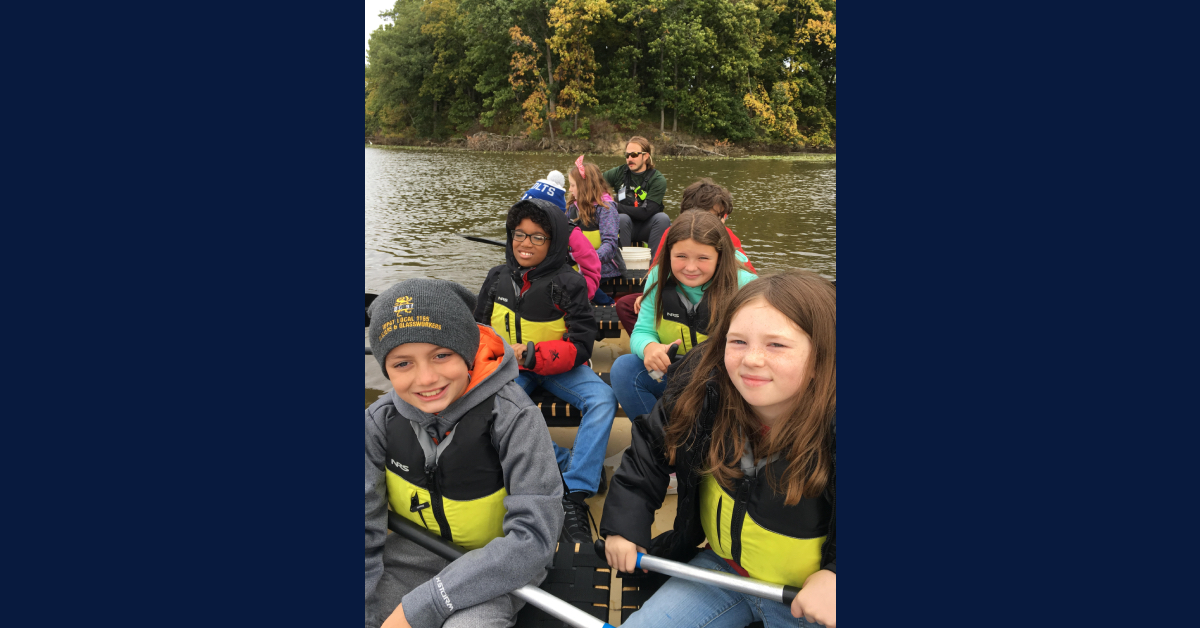 Myers Elementary students attend annual canoe trip