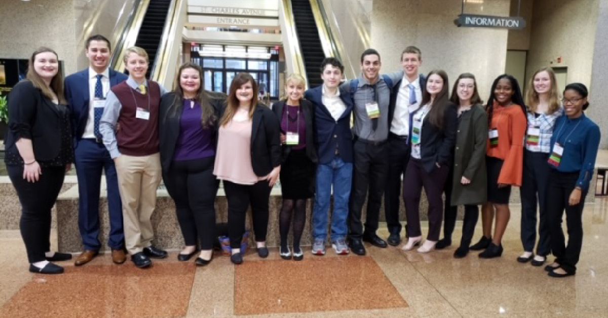 Purdue Northwest honors college students present at National Collegiate Honors Council Annual Conference