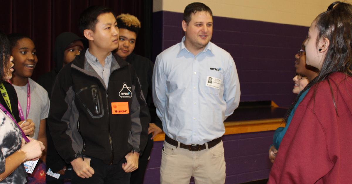 NIPSCO engineers visit MIS
