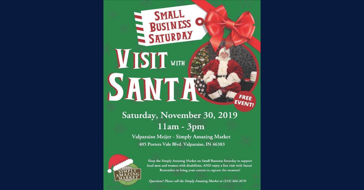 Free Visit with Santa