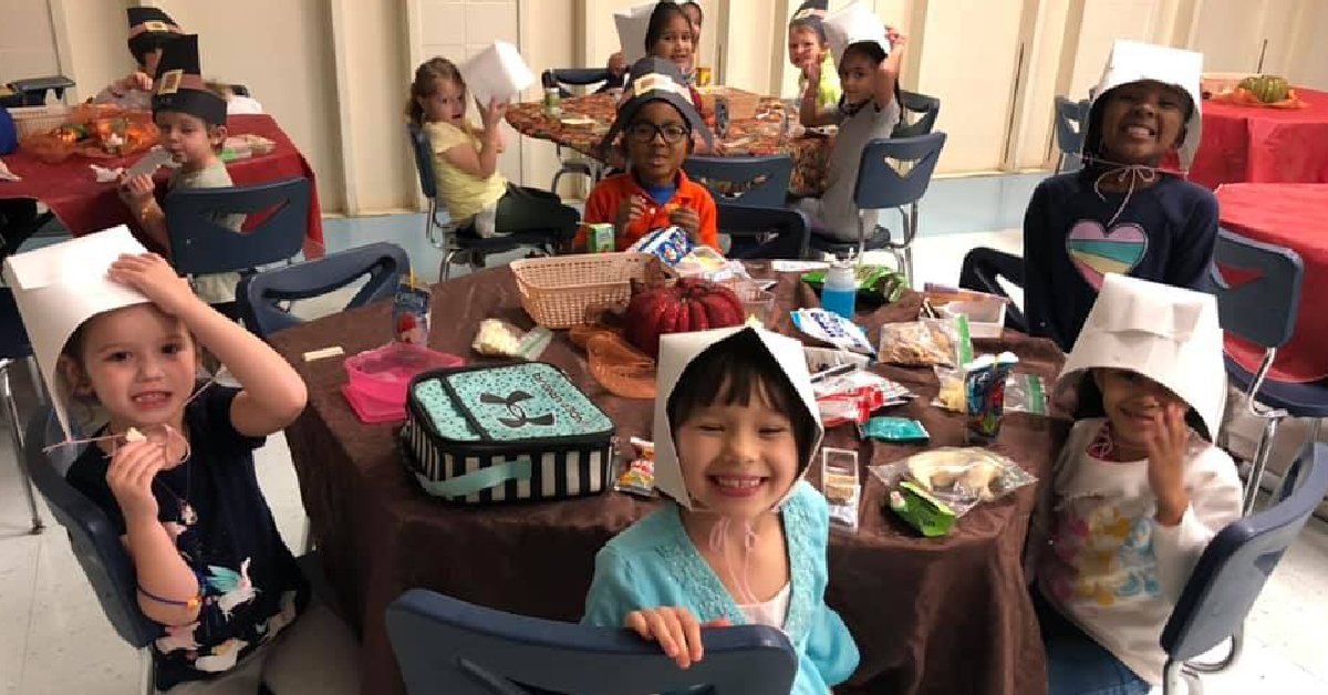 Saylor Elementary School celebrates Thanksgiving 2019