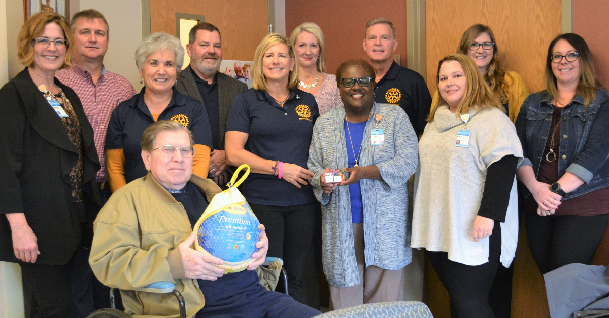 Merrillville Rotary Club holiday donation helps patients in need
