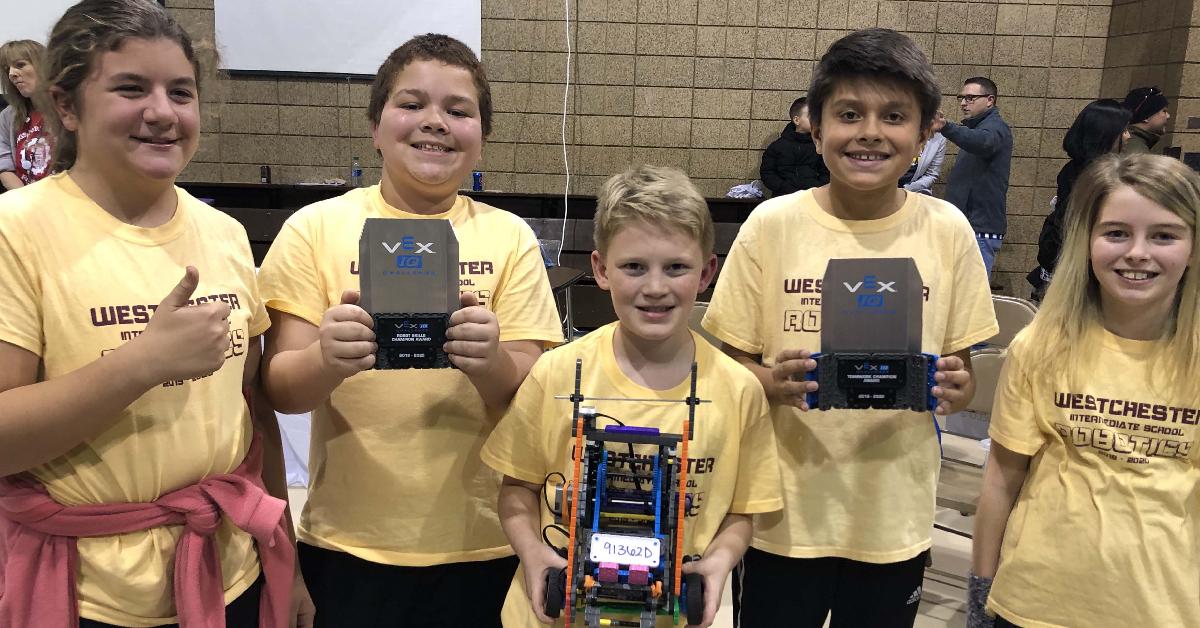 Westchester Robotics Club brings home awards