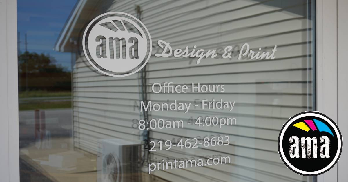AMA Design & Print provides personalized service to the Region