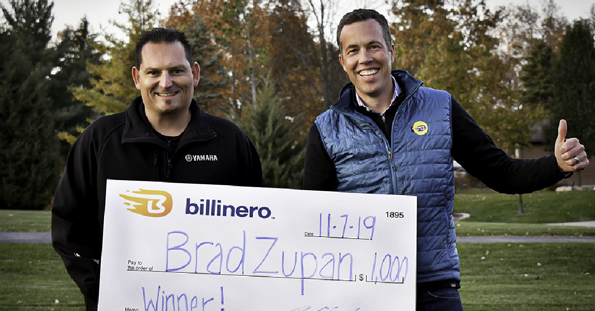 Billinero Prize-Linked Savings App awards $1,000 to monthly drawing winner