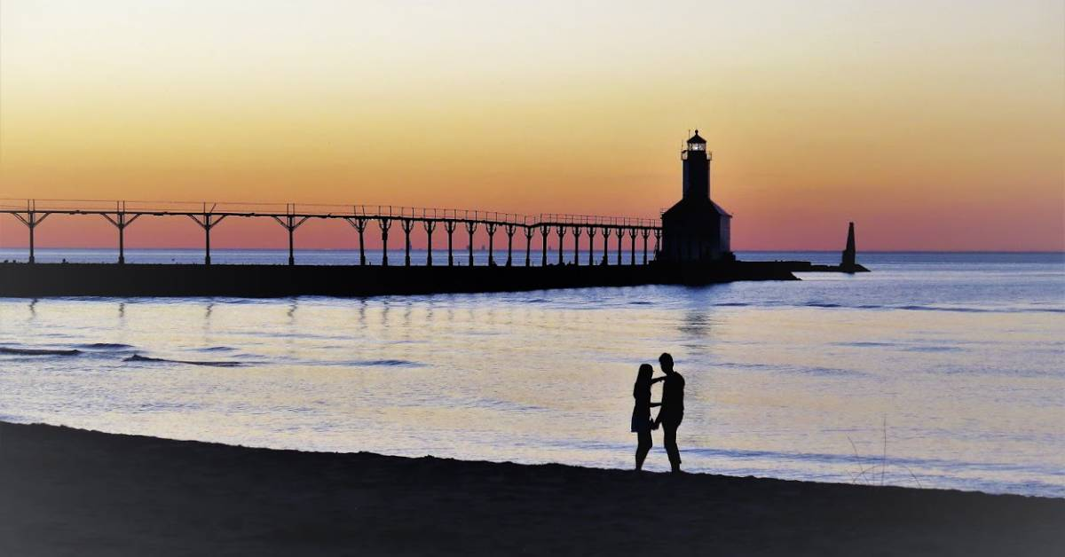 Get the perfect photo at stops around Michigan City