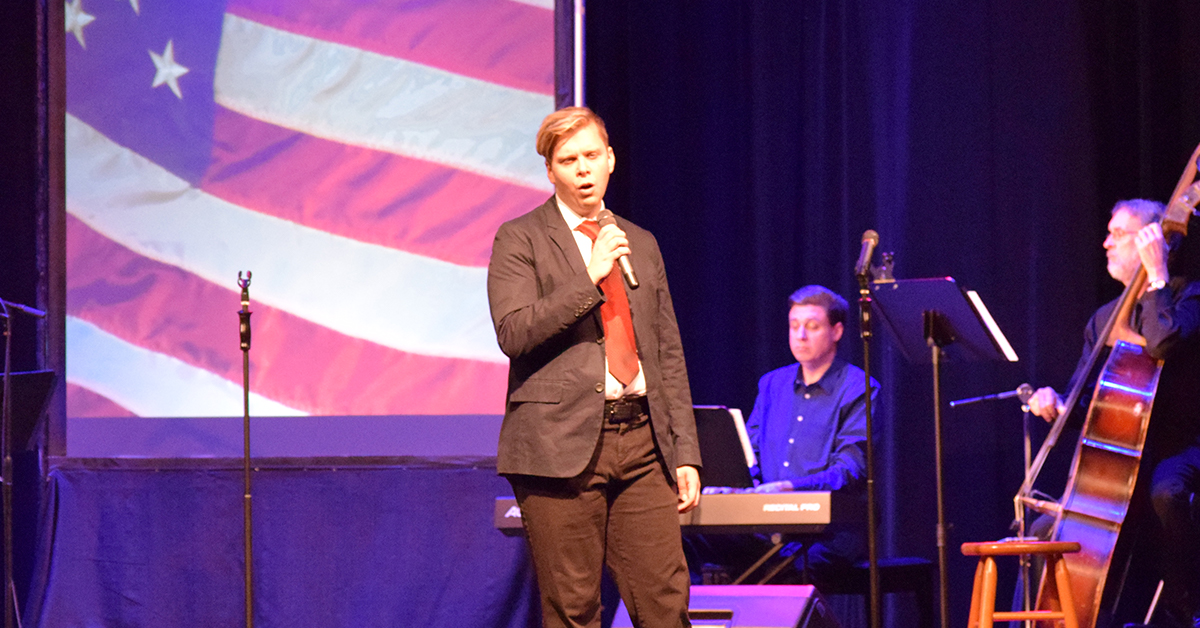 Memorial Opera House presents Hometown Heroes: A Salute to Veterans lunchtime cabaret