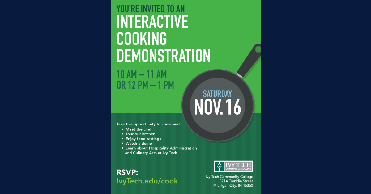 Interactive Cooking Demonstration