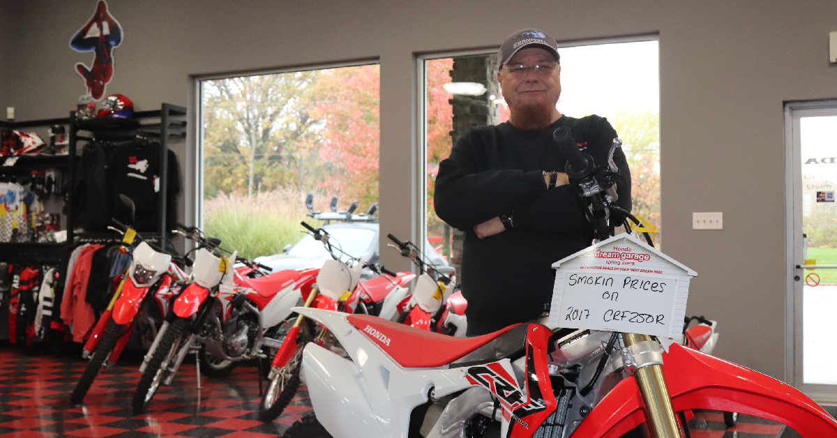 "Honda of Michigan City General Manager Keith ""Katfish"" Jones is the friend you never knew you had"