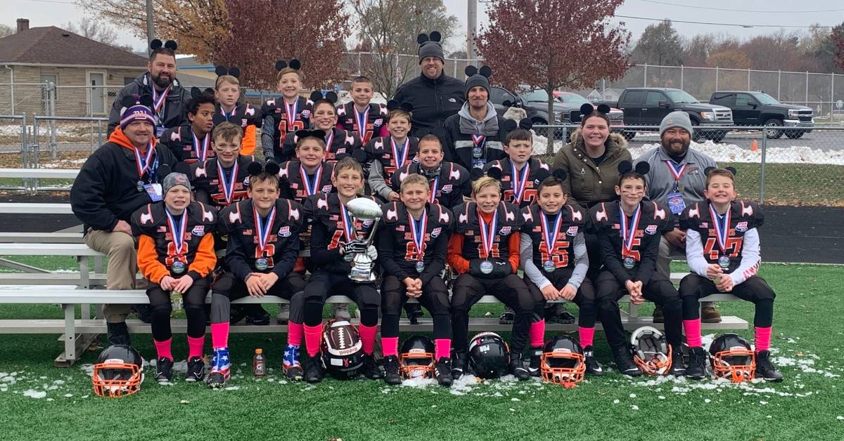 La Porte Slicers Jr Pee Wee Team earn chance to compete at Pop Warner National Championships