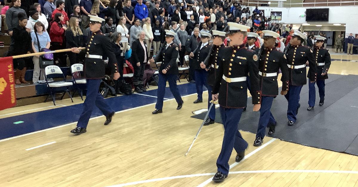 Michigan City High School honors veterans