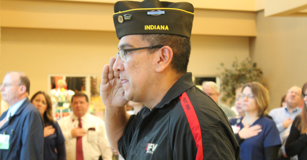 Porter Regional Hospital honors vets with first annual Veterans Day Ceremony