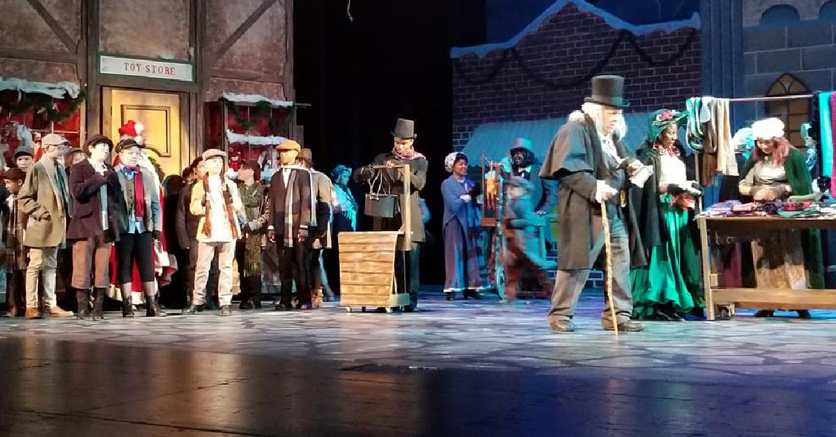 Scrooge at Merrillville High School