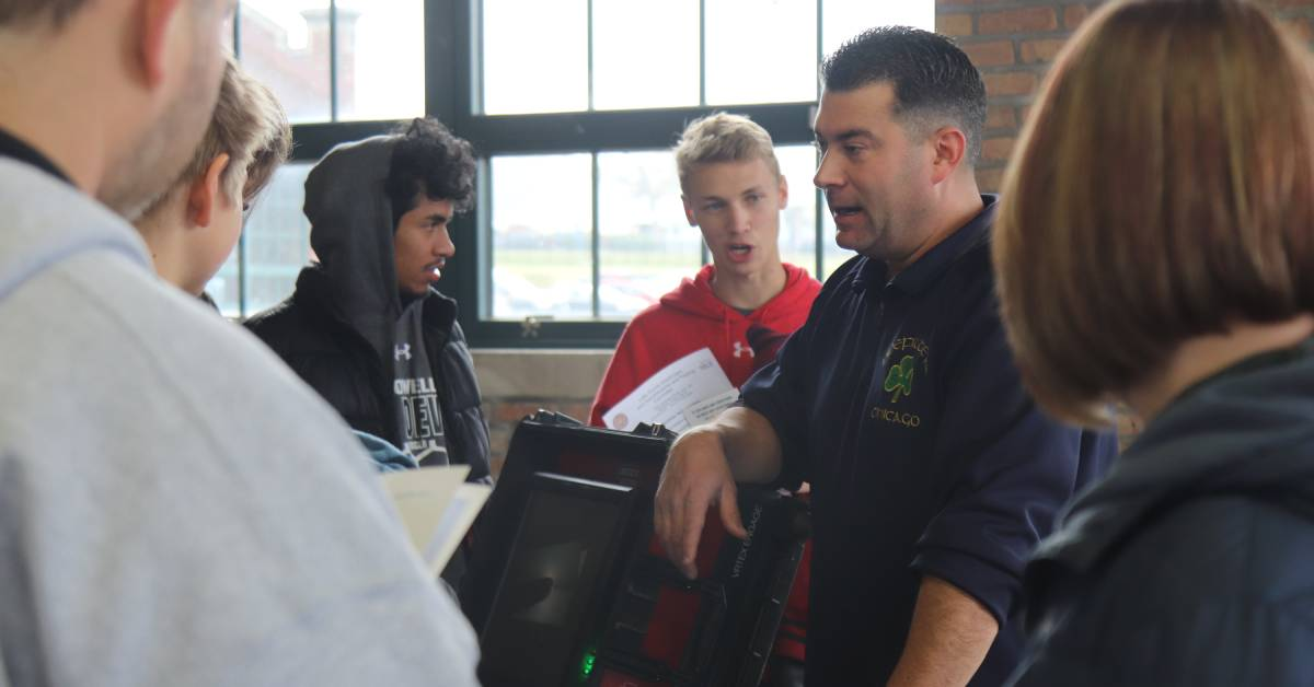 3rd Annual Construction and Skilled Trades Day gives students hands-on experience