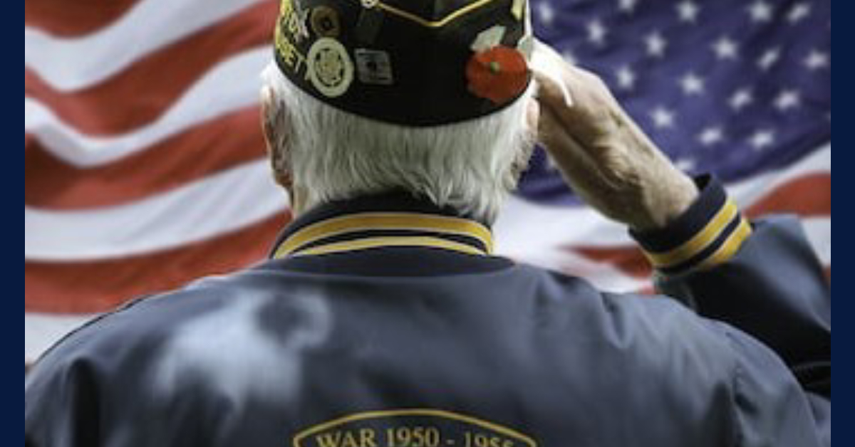 Celebrating veterans day: a reminder from Sen. Ed Charbonneau