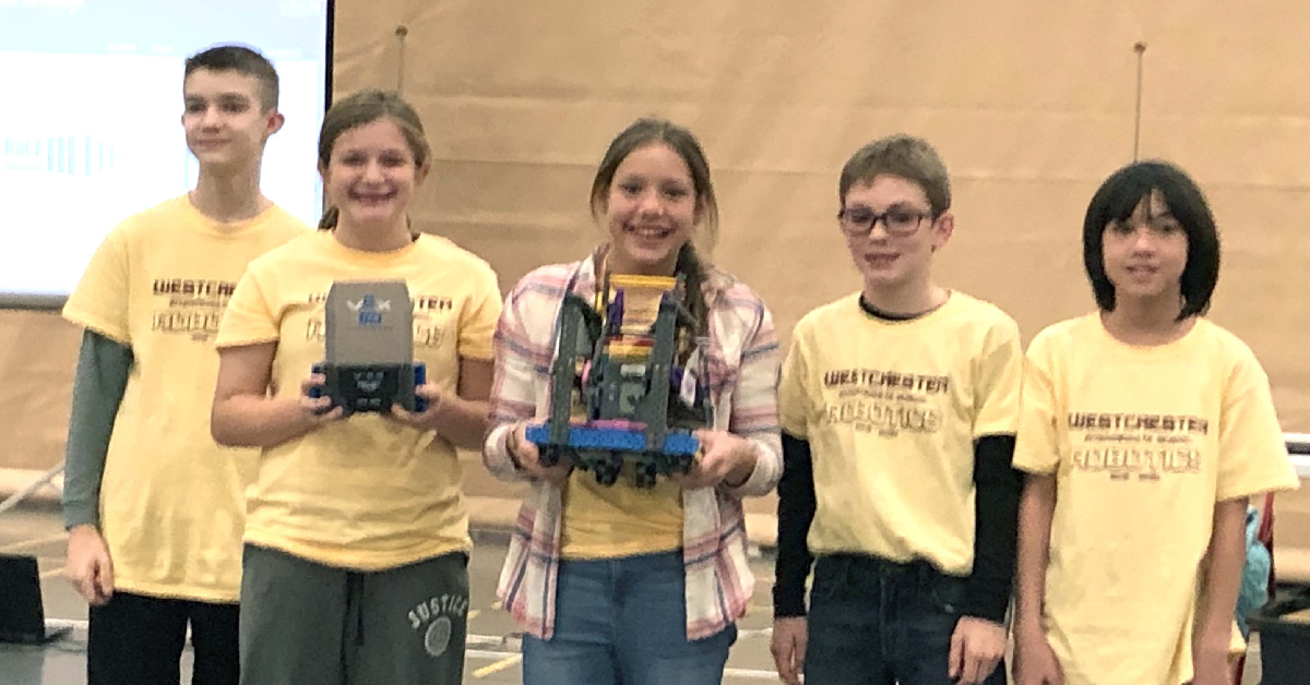 Westchester Intermediate robotics teams place in finals
