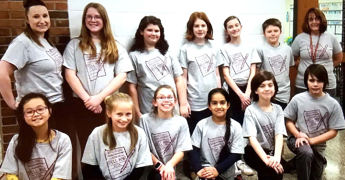 Westchester Intermediate wins division spell bowl title