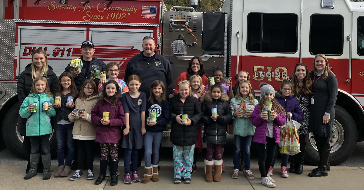 Girls on the Run donates to fire department