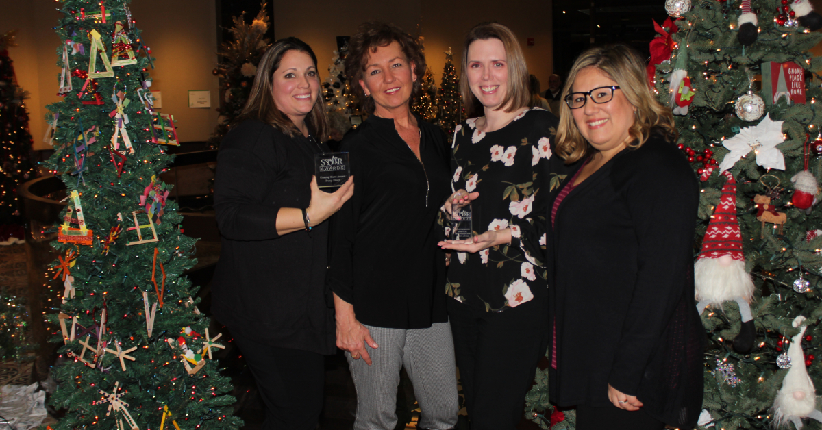 Lake Area United Way presents Star Awards to St. Catherine Hospital and staff