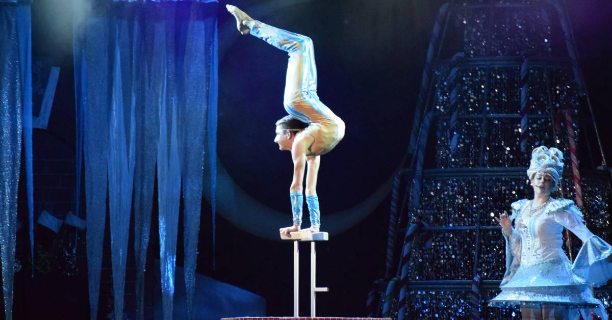 Four Winds Casino presents Cirque Dreams Holidaze