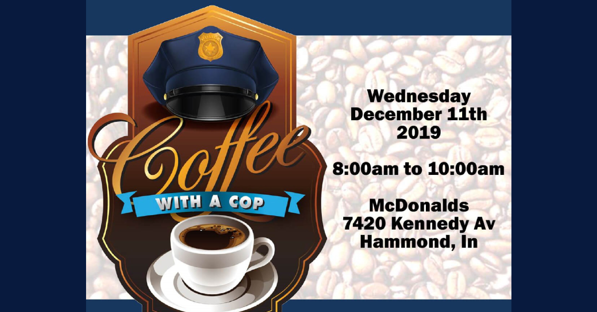 Hammond Police Department to host Coffee with a Cop