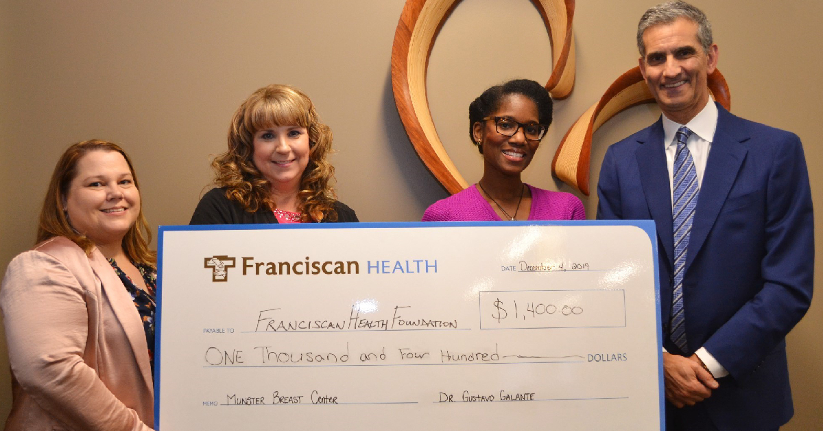 Physician's donation aimed at early detection of breast cancer