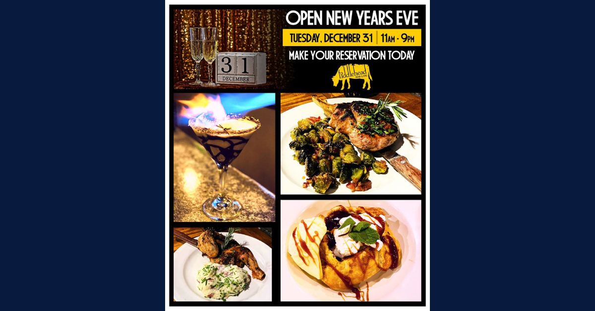 New Year's Eve at Fiddlehead