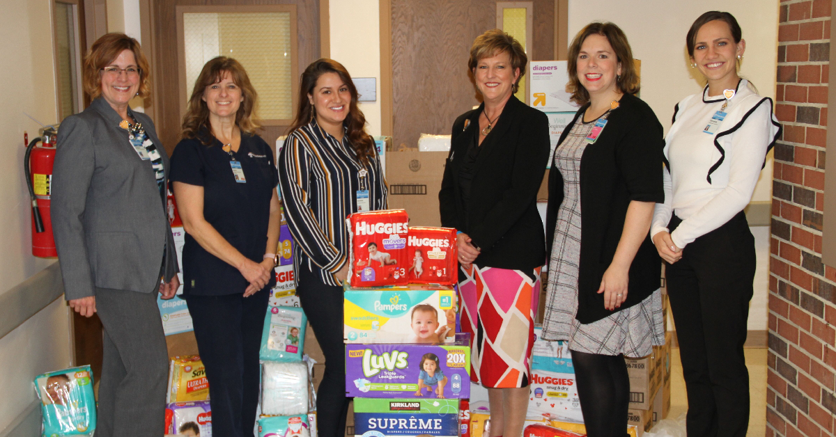 Franciscan Health's third annual Diaper Drive distributes 30,000 diapers for families in need