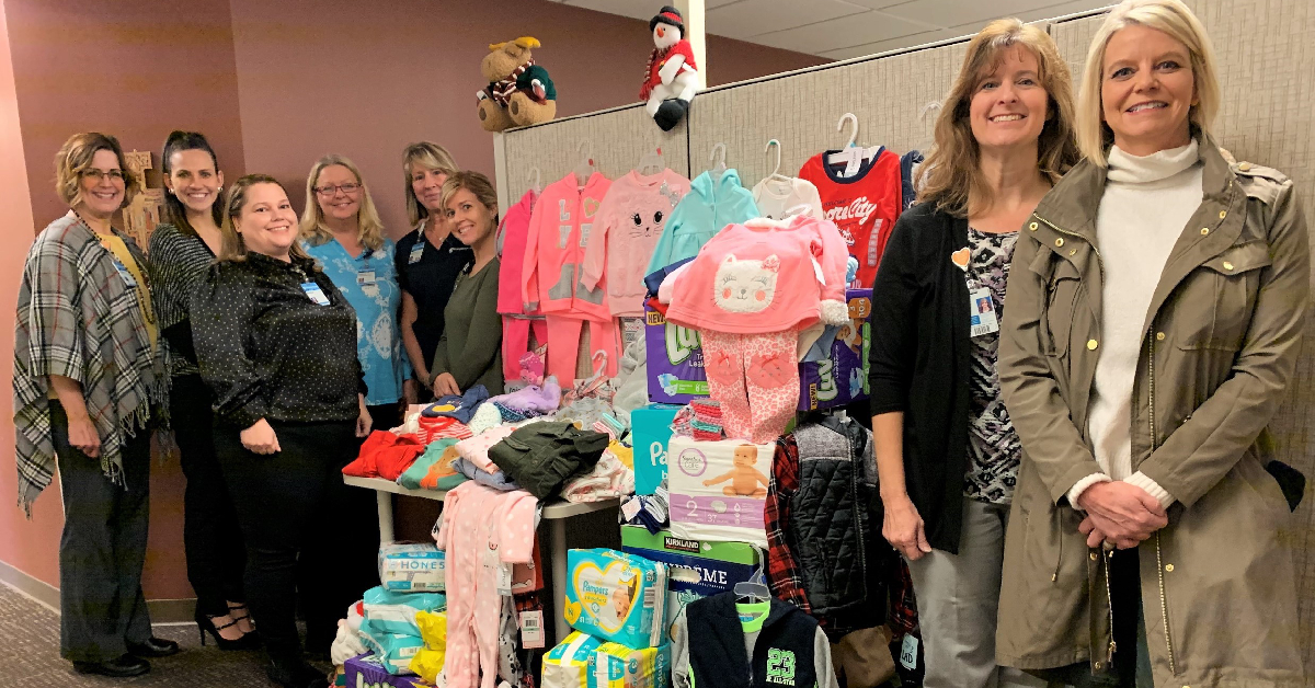 Holiday donations benefit babies at Franciscan Health