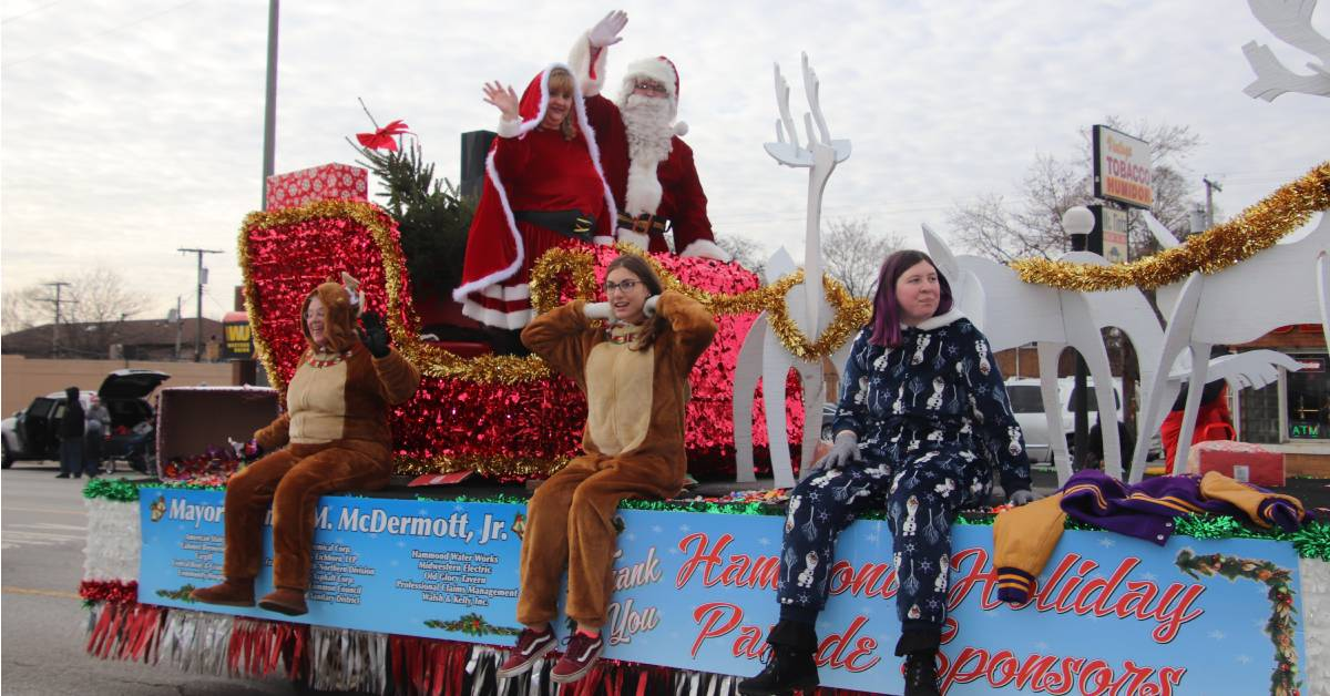 Hammond Holiday Parade Kickstarts the Christmas Season