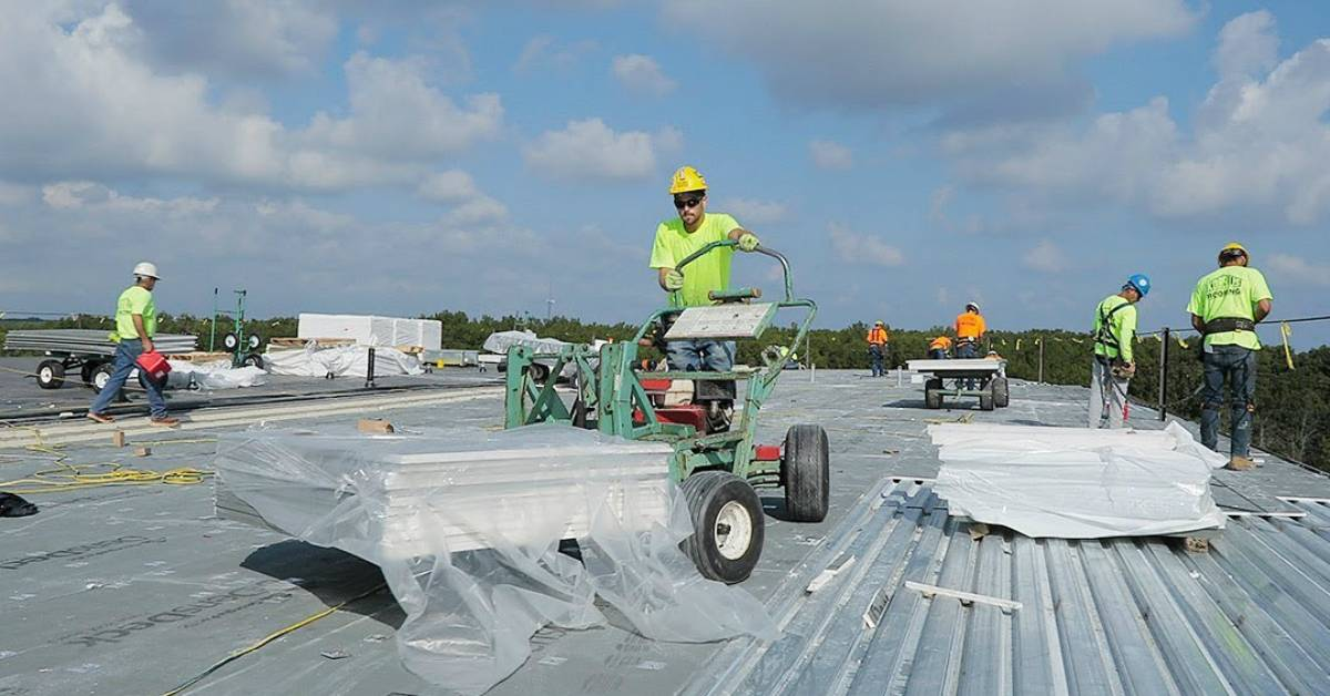 Korellis Roofing uses modern technology to make roofing a safer career
