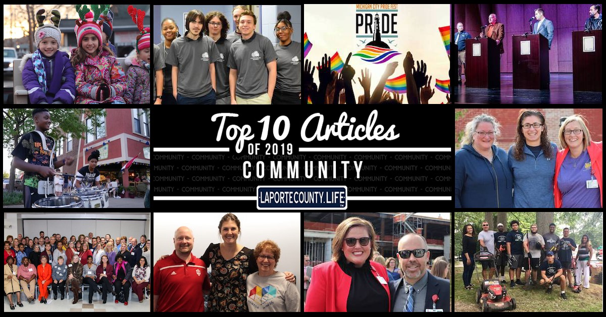 Top 10 community articles on LaPorteCounty.Life in 2019