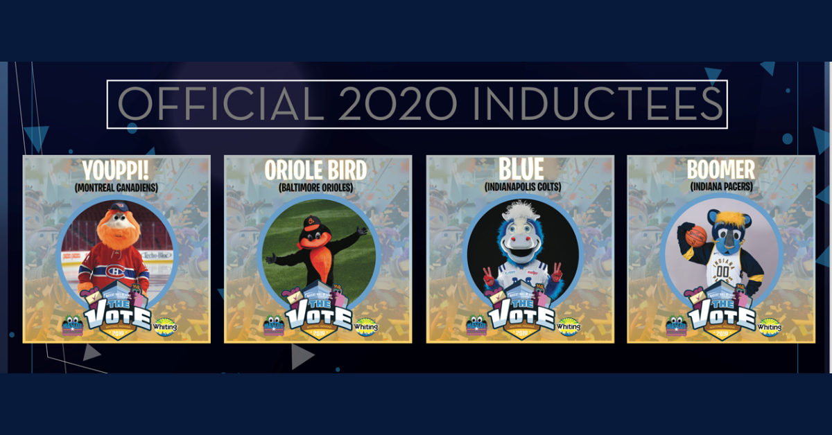 National Mascot Hall of Fame announces official 2020 inductees