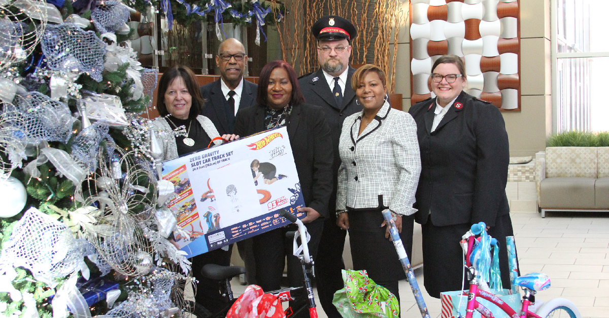 Salvation Army's Angel Tree program a holiday tradition at Methodist Hospitals