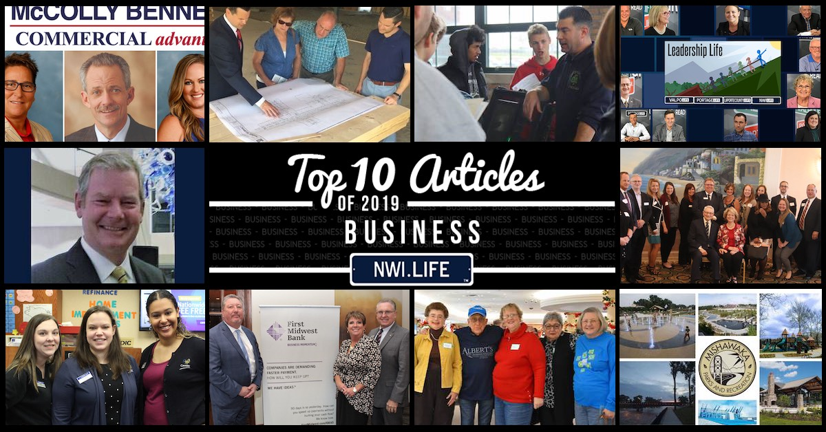Top 10 business articles on NWI.Life in 2019