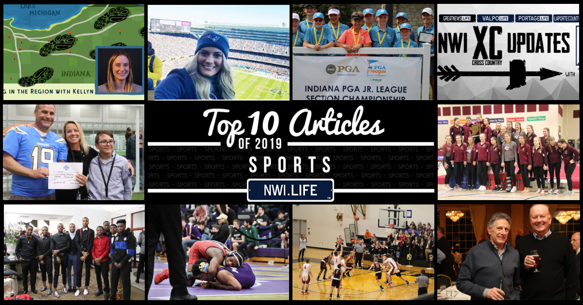 Top 10 sports articles on NWI.Life in 2019