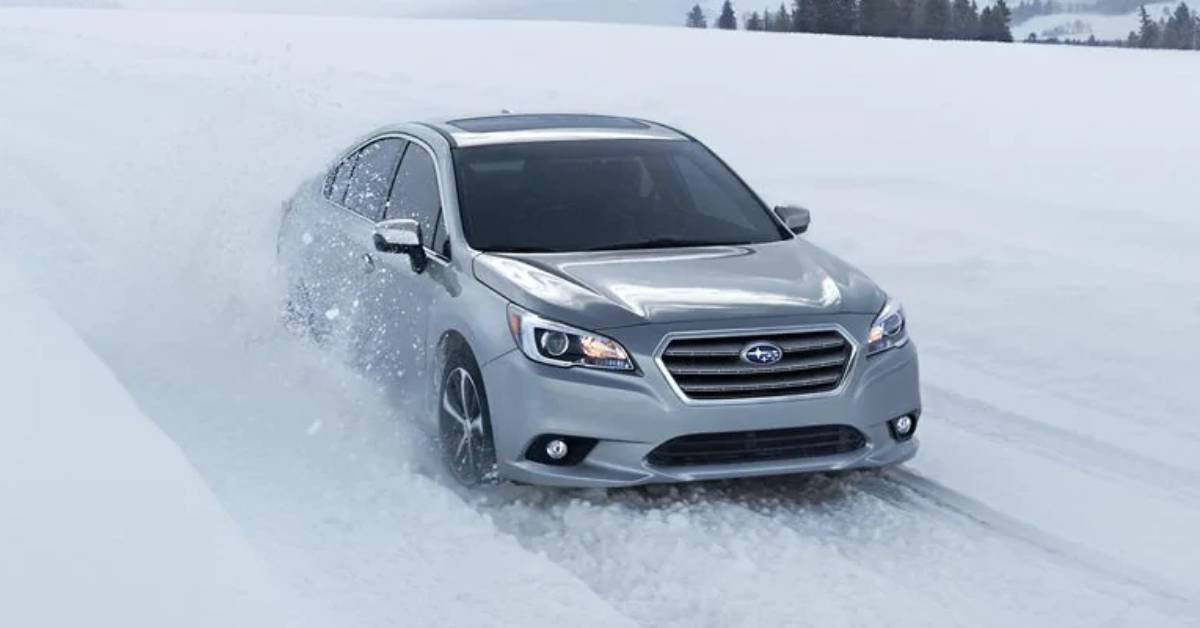 Winter driving in Northwest Indiana? Subaru's Symmetrical All-Wheel Drive System designed for precision, safety
