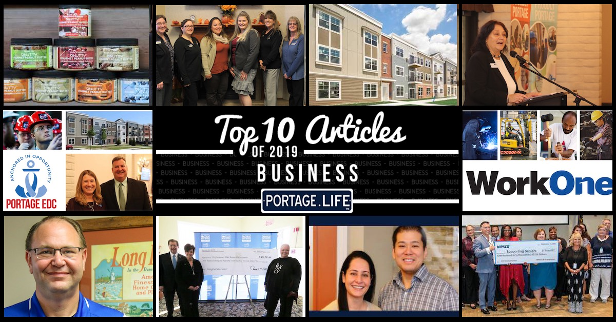 Top 10 business articles on Portage.Life in 2019