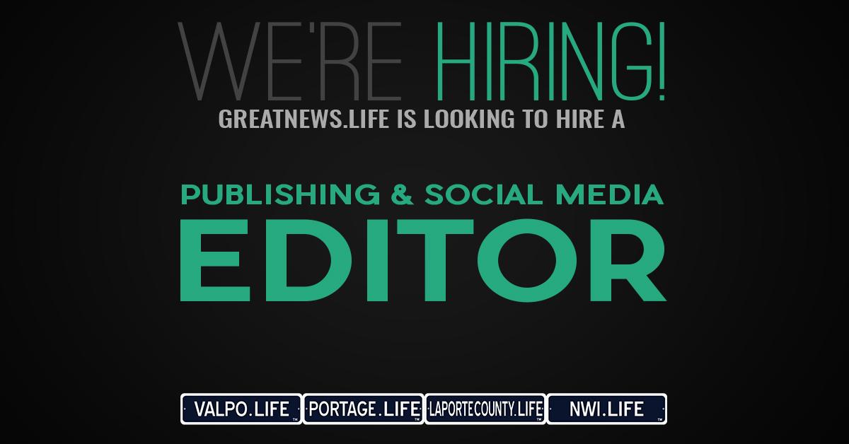 We're Hiring: Publishing & Social Media Editor