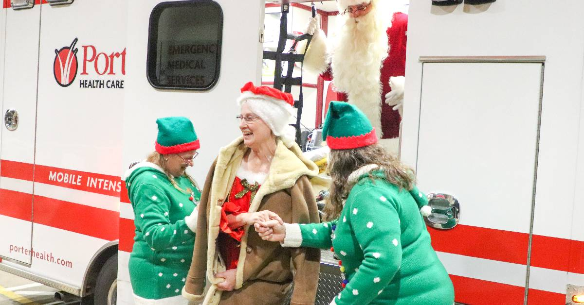 Cookies with Santa a merry-making hit at Porter Regional Hospital
