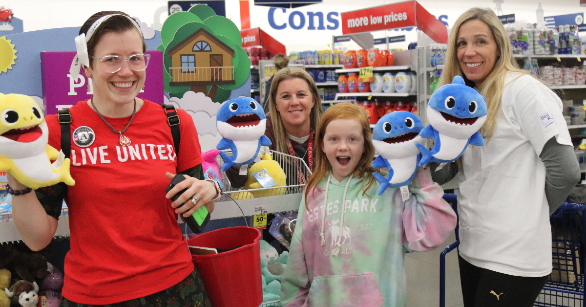 United Way of Porter County and Meijer help kids get into the holiday spirit with shopping spree