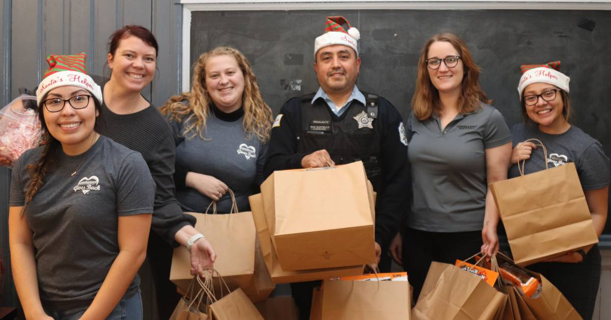 Lerner and Rowe Injury Attorneys spread Christmas joy to Chicago children as part of annual giveaway