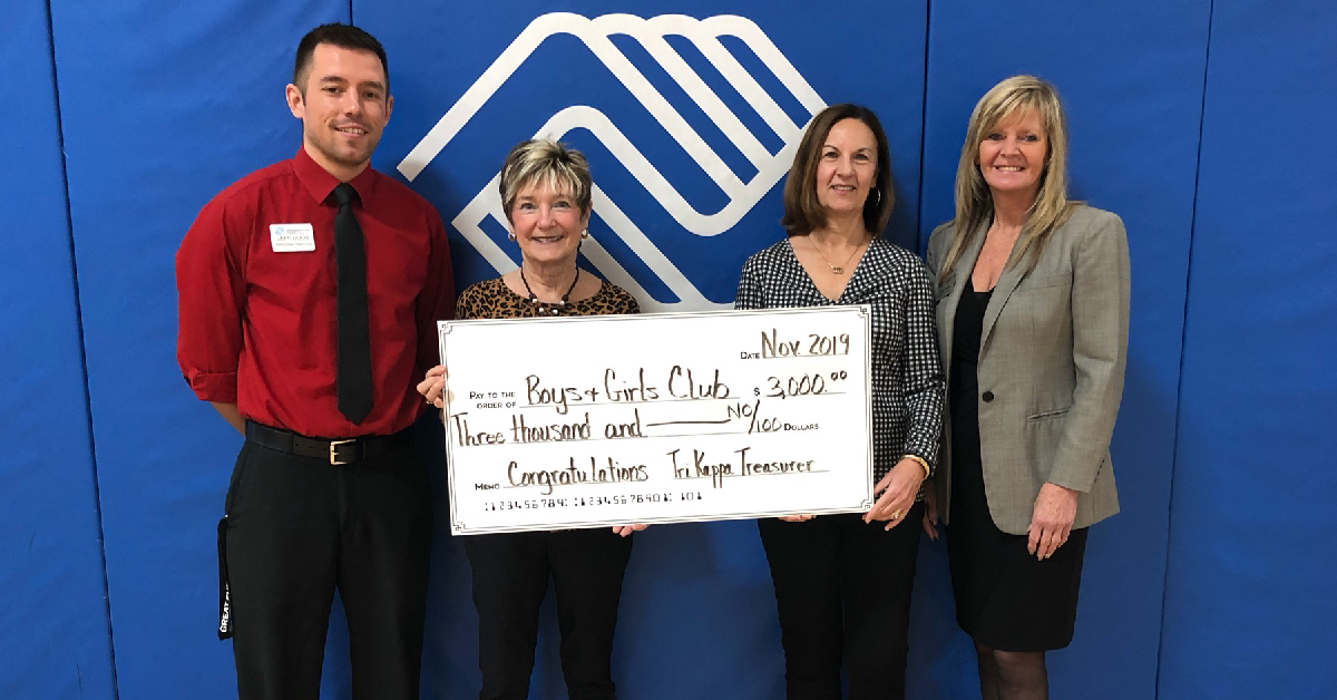 Tri Kappa awards grant to Valparaiso Boys & Girls Club