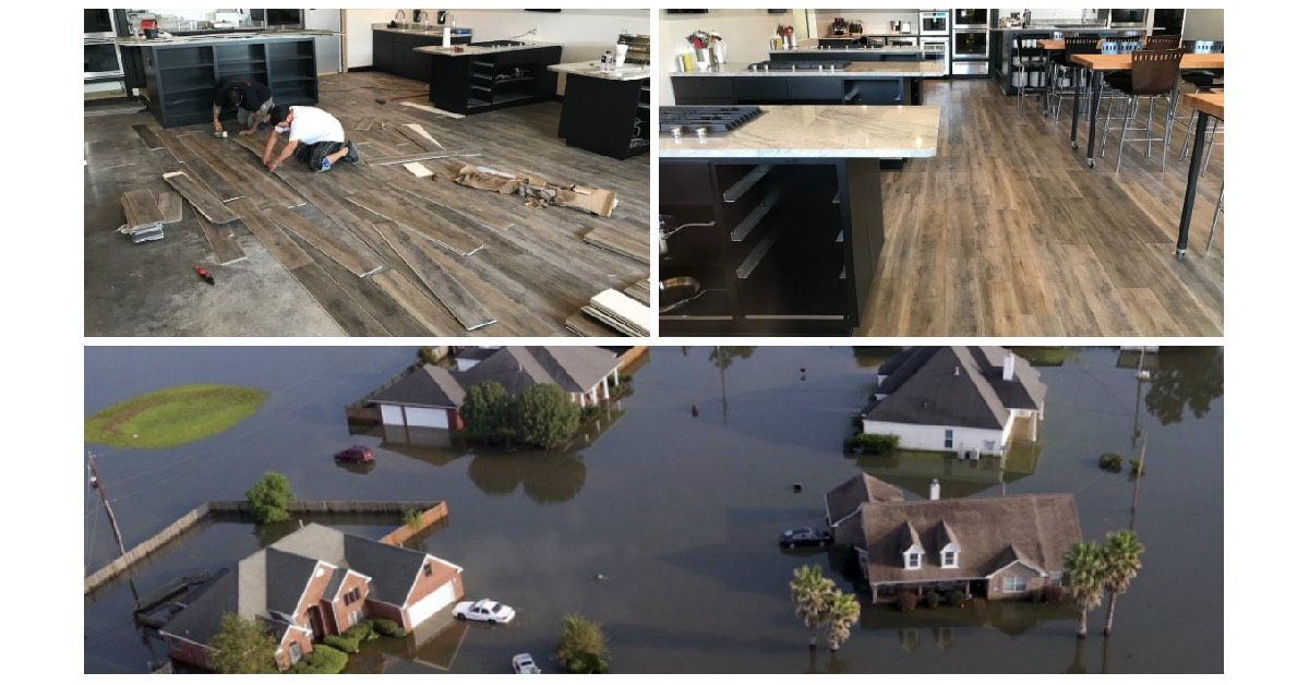 Solidtech Flooring is hurricane-proof