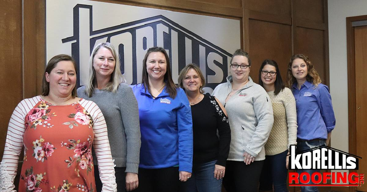 The women of Korellis Roofing, Inc.: driving the company forward